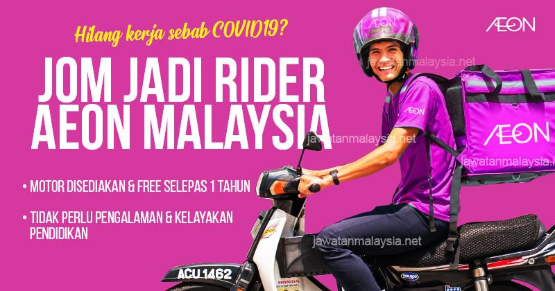 Post image for Jom Jadi Rider AEON Malaysia Dan Dapat Free Motosikal Selepas Setahun!