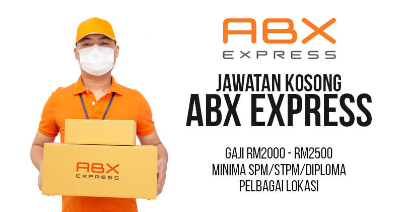 Post image for Jawatan Kosong ABX Express 2020
