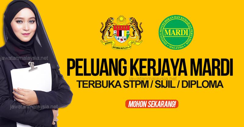 Post image for Jawatan Kosong MARDI 2020